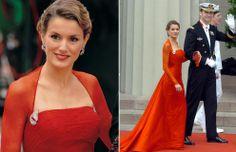 La princesa Letizia en la boda de Federico y Mary de Dinamarca #royals #royalty #princess #spain