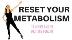 HOME WORKOUT - TO RESET YOUR METABOLISM - to help with weight loss