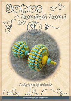 Bohus -Beaded Bead Pattern with Twin - PDF instruction for personal use only. $13.00, via Etsy.