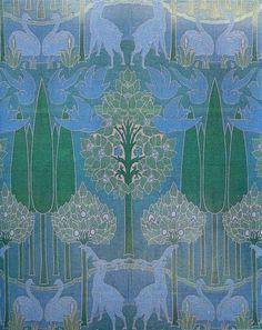 Charles Voysey Textile