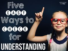 Discover five ways to check for understanding in order to know your students better. Use these five tips to for easy data collection in the classroom. TAKE OFF TOUCH DOWN Teacher Tools, Teacher Hacks, Teacher Resources, Teacher Stuff, Teaching Strategies, Teaching Tips, Instructional Strategies, Teaching Techniques, Comprehension Strategies