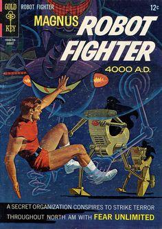 Magnus Robot Fighter #19 by Russ Manning
