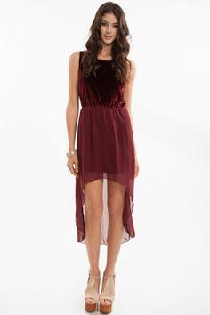 Sweet Velvet Dress #TOBI