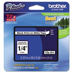 http://pigselectronics.com/brother-tze243-07-blue-on-white-tape-for-ptouch-26239brother-industriestze243brttze211-6-p-3223.html