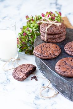 Easy Meals, Sweets, Cookies, Chocolate, Baking, Eat, Brownies, Desserts, Recipes