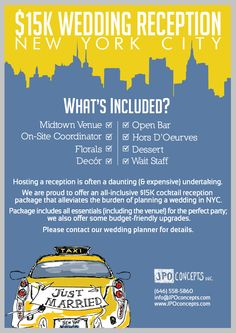 Great All Inclusive Budget Friendly Wedding Solution In New York City Includes A Beautiful Midtown Venue On Site Coordinator Fls Decor Open Bar