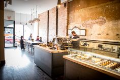 The Tempered Room is an award-winning Partisserie in Parkdale - it is located at 1374 Queen St. W - Inside the display cases, everything from freshly baked croissants ($2.50) to exquisite mini-cakes and pastries ($2.50-$6.50) can be found.