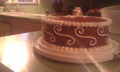 Birthday Cake Side View