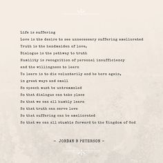 Jordan Peterson Quote