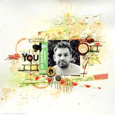 Sizzix UK designer @Ania Dabrowska shares a tutorial for creating a mixed media scrapbook page.