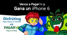 Gana un iPhone 6 venciendo a Pagarya