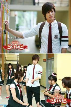 Kim Hyun Joong como Baek Seung Jo y Jung So Min como Oh Ha Ni. Kpop, I Got You Fam, Kim Joong Hyun, Baek Seung Jo, Princess Hours, Itazura Na Kiss, Korean Drama Series, Ji Hoo, Stupid Girl