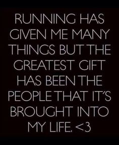 running has given me many things - Google Search