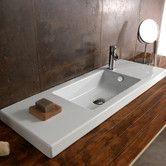 Found it at AllModern - Serie 35 Ceramic Bathroom Sink with Overflow