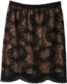 Black lace skirt / ShopStyle: カオン レーススカート - shopstyle.co.jp