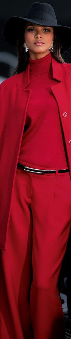 Madeleine Red Coat
