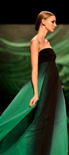 Monique Lhuillier gown