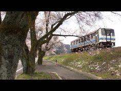 鉄道のある風景 JR三江線 桜全線満開中 2 (31-Mar-2013) - YouTube