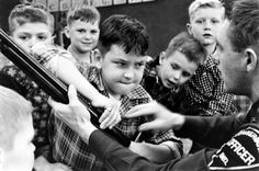 There Was a Time When Kids Were Taught To Respect Firearms, Not Fear Them - Pictures of Schoolkids Learning Firearm Safety in Rural Indiana, 1956