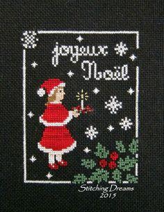 Stitching Dreams: Joyeux Noel
