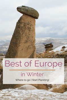 Winter in Europe if magical! Beautiful mountains, plenty of outdoor activities, and lots of wonderful sights. Don't miss out. Start planning your European winter vacation. #Europe #winter #outdoor #ski #snowmobile