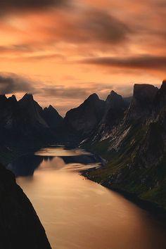 Voice of Nature - wnderlst: Kjerkfjorden, Norway | Swen strOOp