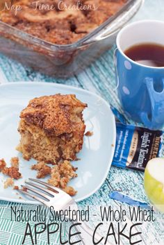 whole wheat apple cake #SweetWarmUp #CollectiveBias #ad found on Nap-Time Creations
