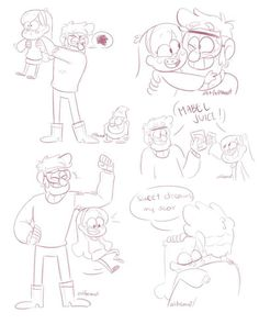 「️mabel and ford doodle dump」️ | Gravity Falls Amino