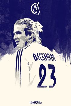 List of Best Manchester United Wallpapers Beckham Football Posters by Ricardo Mondragon, via Behance First Football, Football Love, Football Is Life, Football Art, Football Posters, Sports Posters, Real Madrid 2005, David Beckham Wallpaper, David Beckham Football