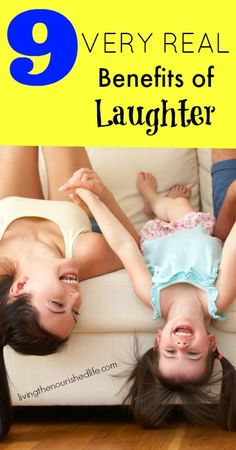 9 Very Real Benefits of Laughter - http://www.livingthenourishedlife.com/2014/07/benefits-of-laughter #benefits #laughter #humor