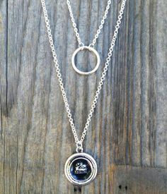 Emma Swan Necklace Layered Necklace Both of by FishesGiveKisses
