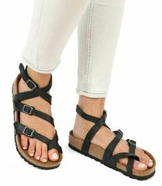 Birkenstock Sandals SERES Camberra Old Black natural leather regular fit NEW Birkenstock Sandals Black, Black Leather Sandals, Black Sandals, Birkenstocks, Ballerinas, Clogs Shoes, Shoe Boots, Beach Wardrobe, Espadrilles