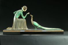 FIGURAL MANTEL PIECE. Garth's Auctions, Inc. - Auctioneers & Appraisers : Full Details for Lot 463