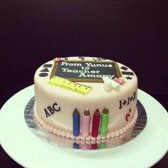 Cake for teachers