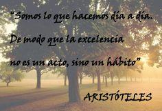 Que no sea solo una ocasión sino una estilo de vida, vive tu vida en excelencia...