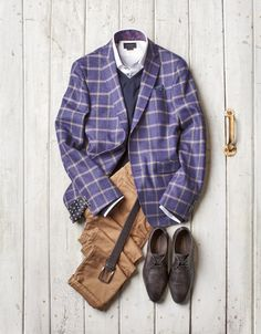 Moda Hombre Casual Stylish Men Sport Coats Ideas For 2019 Casual Fall, Men Casual, Purple Plaid Shirt, Dm Poster, Well Dressed Men, Mode Outfits, Fall Looks, Stylish Men, Mens Suits