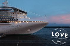 Love is everything you need. And I'd love to be boarding a cruise right now. #SweepsEntry