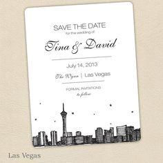 Vegas Save The Dates
