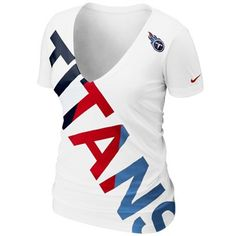 You've never been one to do anything halfheartedly, so why would it be any different when it comes time to represent your Titans? Show off your enthusiastic dedication to your team in this Off Kilter V-neck tee from Nike.