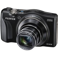 Fujifilm FinePix F800EXR - This camera has an app inside that sends images straight to your mobile device.  Cool.