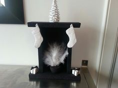 Mini Christmas fireplace