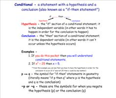 Conditional, Contrapositive, Inverse, Converse, and Biconditional Tutorial   Sophia Learning