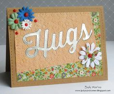 Card created by Judy Marino for her featured post on Paper Crafter's Library.