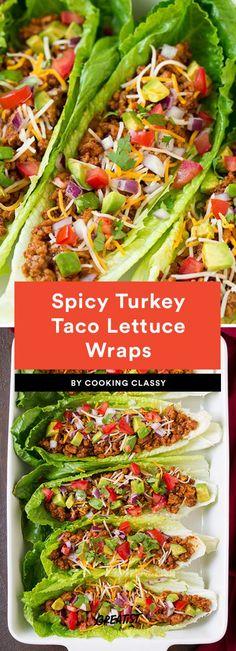 Spicy Turkey Taco Lettuce Wraps Recipe