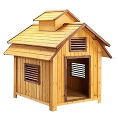 Home Pet Squeaks 3.7 ft. L x 3.4 ft. W x 3.9 ft. H Large Bird Dog House ** Continue to the product at the image link. (This is an affiliate link and I receive a commission for the sales) #MyDog