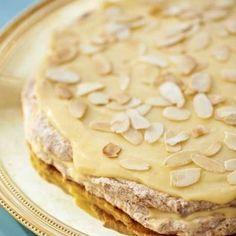 Cake Recipes, Snack Recipes, Dessert Recipes, Snacks, Bagan, Grandma Cookies, Best Sweets, Scandinavian Food, Sandwich Cake