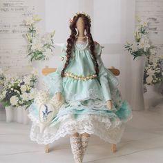 Muñeca tilda creada por ángeles de Lana C/L