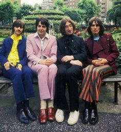 Wow!  Just look at the pink suit on Paul!