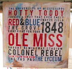 Ole Miss Painting
