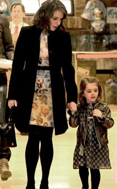 Tina Fey and daughter Alice-- Link is Tina's prayer for her daughter-- HILARIOUS.